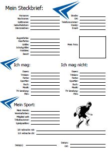 Vorlage Freundebuch Fussball Daniel Schuhmacher Musicde