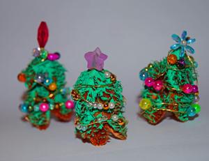 kleinen christbaum aus bucheckern basteln, Garten ideen