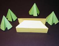 pin origami maus falten expli anleitung zum selbermachen on pinterest. Black Bedroom Furniture Sets. Home Design Ideas