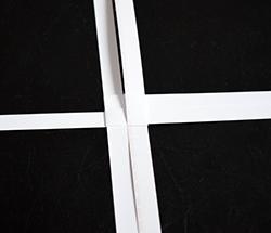 fr belsterne basteln sterne aus papierstreifen falten. Black Bedroom Furniture Sets. Home Design Ideas