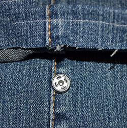 kissen aus jeans naehen, ein patchwork-kissen aus einer jeans nähen - jeans kissen basteln, Design ideen