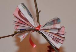 Geldgeschenke Geldbaum Basteln