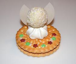 Weihnachtsbasteln Mit Süßigkeiten.Engel Aus Süßigkeiten Für Nikolaus Oder Weihnachten Basteln