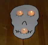 Tischdekoration f r halloween basteln - Tischdekoration halloween ...